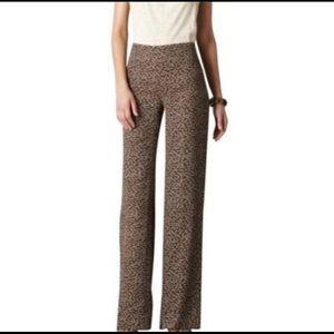 New LOFT Kate Sea Shell Wide Leg Lightweight Pants